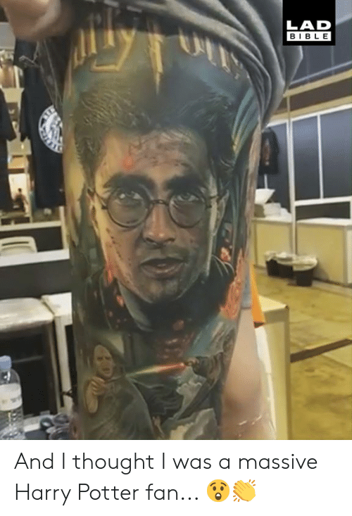 Dank, Harry Potter, and Bible: LAD  BIBLE And I thought I was a massive Harry Potter fan... 😲👏