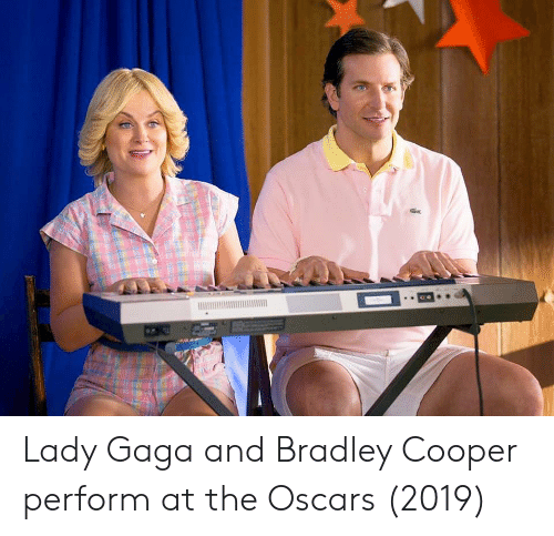 Oscars: Lady Gaga and Bradley Cooper perform at the Oscars (2019)