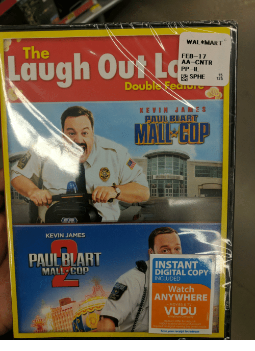 Laugh Kevin James Paulblart Mall Cop Walmart Feb 17 Aa Cntr Pp Il E