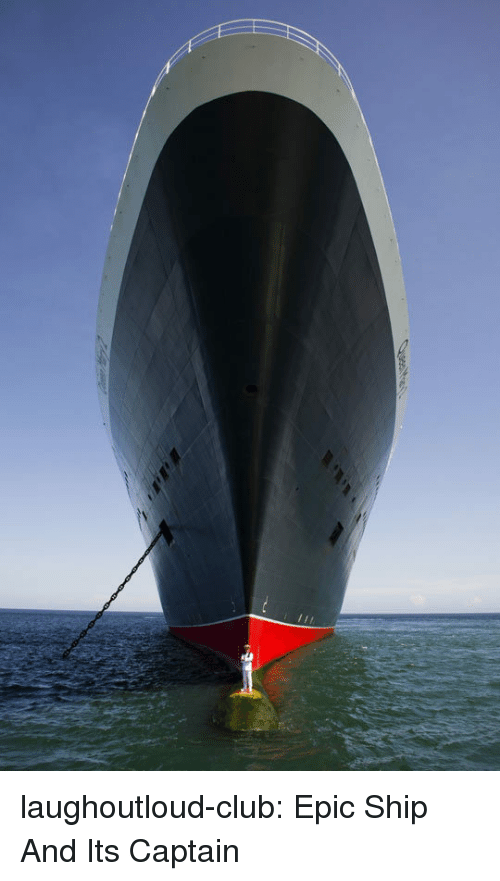 Club, Tumblr, and Blog: laughoutloud-club:  Epic Ship And Its Captain