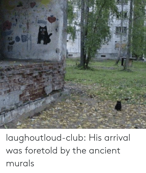 Arrival: laughoutloud-club:  His arrival was foretold by the ancient murals