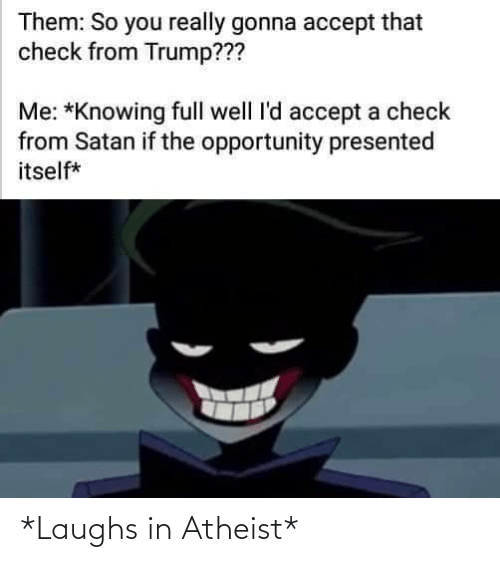 Atheist, Laughs, and Laughs In: *Laughs in Atheist*