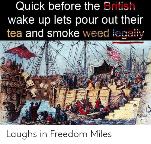 Laughs: Laughs in Freedom Miles