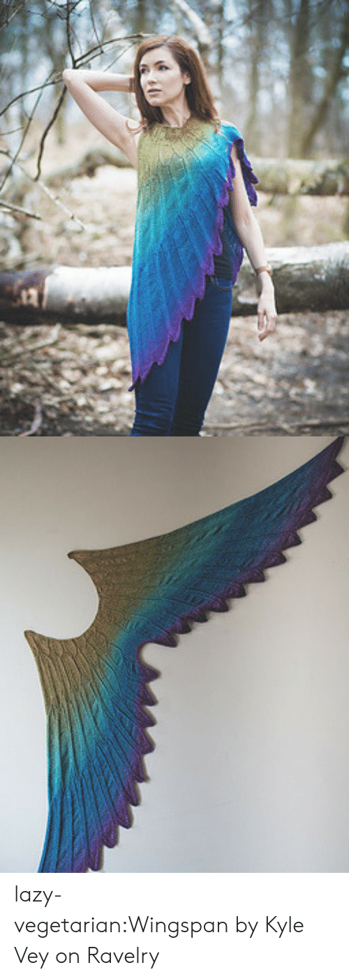 Vegetarian: lazy-vegetarian:Wingspan by Kyle Vey on Ravelry