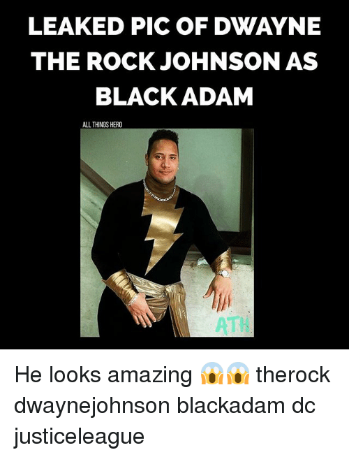black adam: LEAKED PIC OF DWAYNE  THE ROCK JOHNSON AS  BLACK ADAM  ALL THINGS HERO  ATI He looks amazing 😱😱 therock dwaynejohnson blackadam dc justiceleague