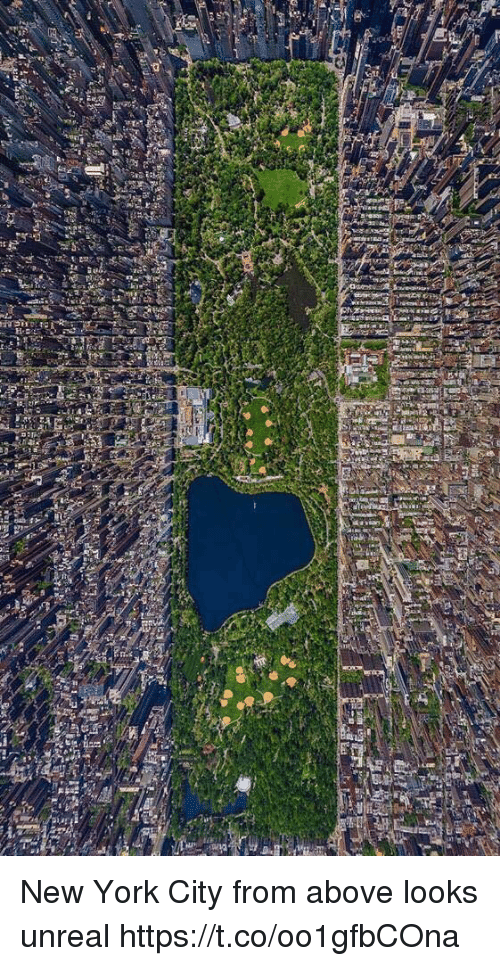 Unrealism: lef New York City from above looks unreal https://t.co/oo1gfbCOna