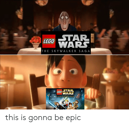 tar: LEGOWARS.  THE SKYWALKER SAGA  LEGO TAR  WARS  COMPLETE SAGA this is gonna be epic