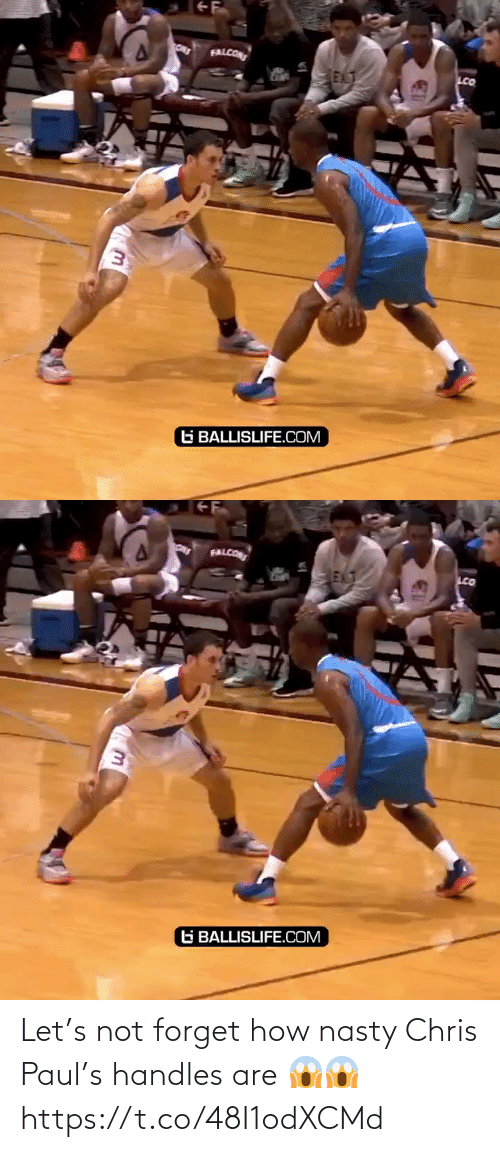 handles: Let's not forget how nasty Chris Paul's handles are 😱😱 https://t.co/48I1odXCMd
