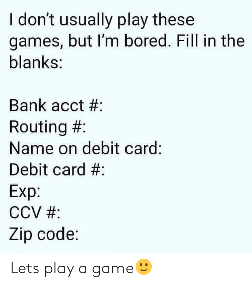 Play A Game: Lets play a game🙂