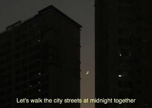 Streets, Midnight, and City: Let's walk the city streets at midnight together