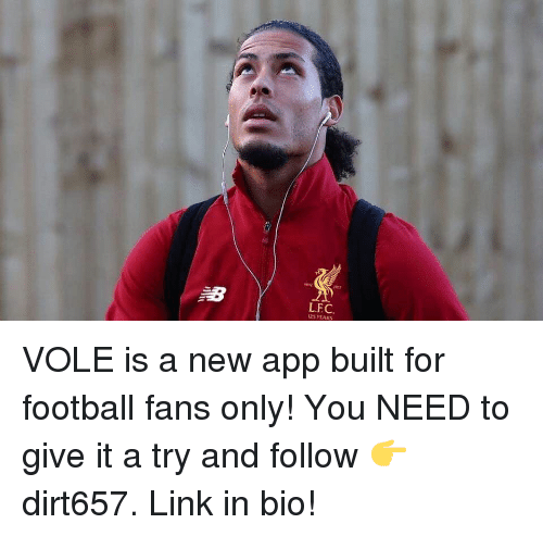 give it a try: LFC  125 YEARS VOLE is a new app built for football fans only! You NEED to give it a try and follow 👉 dirt657. Link in bio!