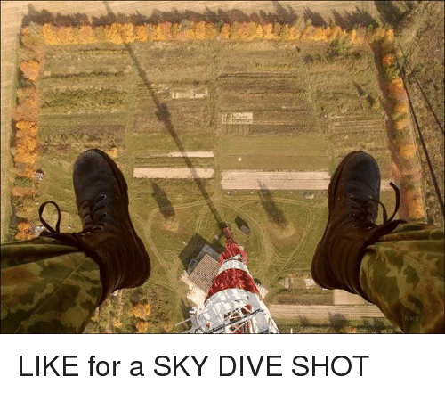 sky diving: LIKE for a SKY DIVE SHOT