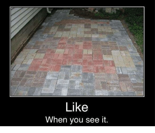 Can not Like when you see it