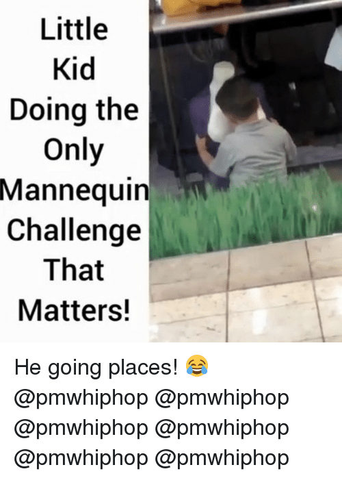 Mannequin Challenge: Little  Kid  Doing the  Only  Mannequin  Challenge  That  Matters! He going places! 😂 @pmwhiphop @pmwhiphop @pmwhiphop @pmwhiphop @pmwhiphop @pmwhiphop