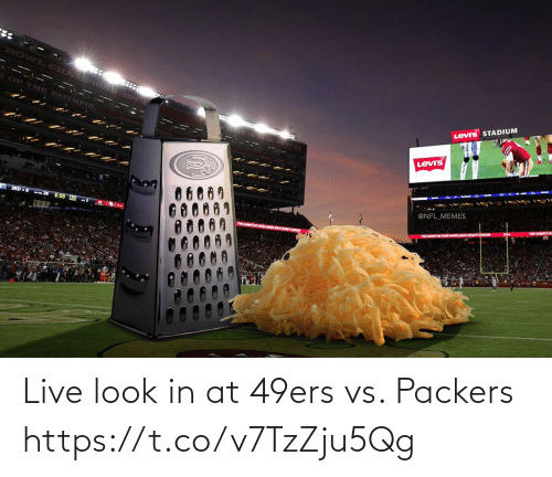 San Francisco 49ers: Live look in at 49ers vs. Packers https://t.co/v7TzZju5Qg