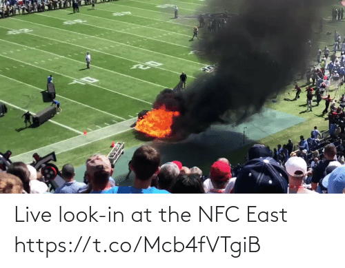 Look In: Live look-in at the NFC East  https://t.co/Mcb4fVTgiB