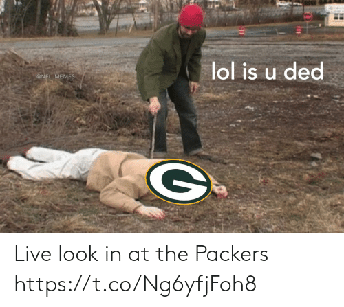 At: Live look in at the Packers https://t.co/Ng6yfjFoh8