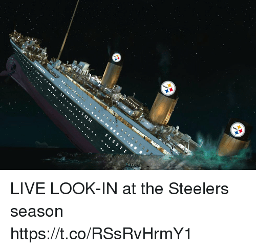 Football, Nfl, and Sports: LIVE LOOK-IN at the Steelers season https://t.co/RSsRvHrmY1