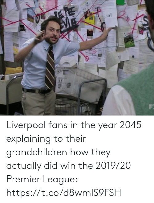 soccer: Liverpool fans in the year 2045 explaining to their grandchildren how they actually did win the 2019/20 Premier League: https://t.co/d8wmlS9FSH