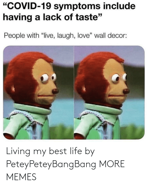 My Best: Living my best life by PeteyPeteyBangBang MORE MEMES
