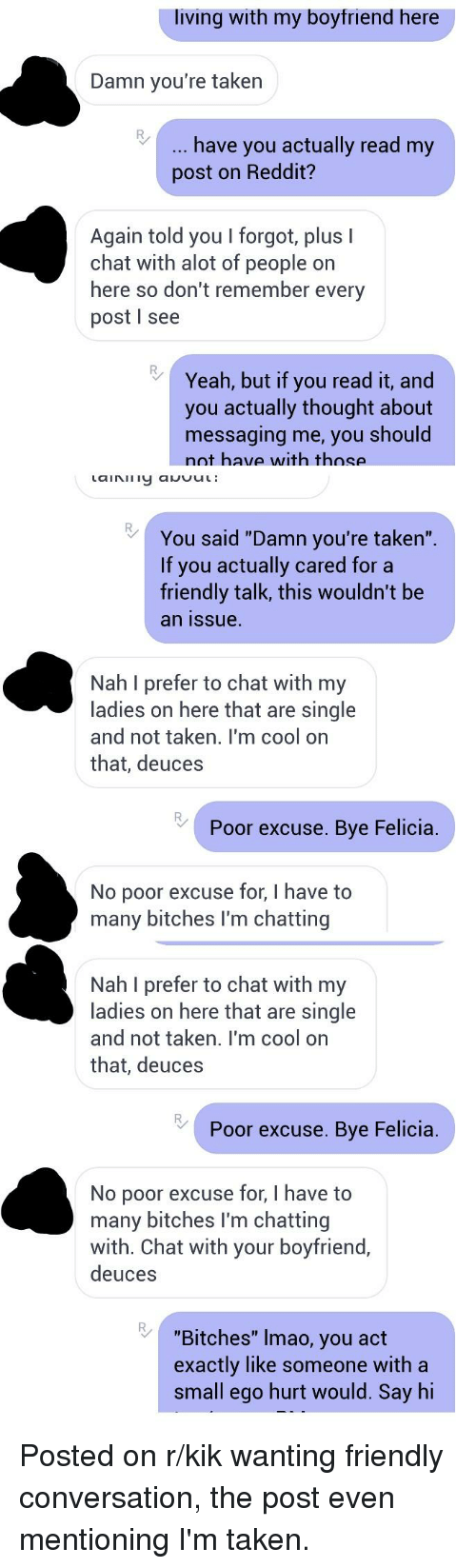 Bitches on kik