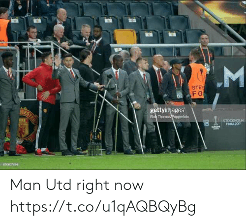 Soccer, Man Utd, and Man: LM  STE  FO  gettyimages  oto  688687794 Man Utd right now https://t.co/u1qAQBQyBg