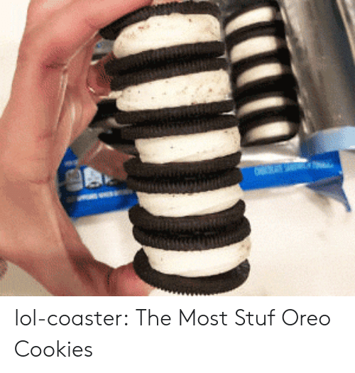 oreo: lol-coaster:  The Most Stuf Oreo Cookies
