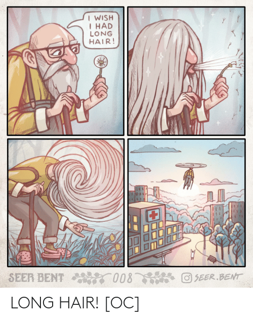 Long: LONG HAIR! [OC]