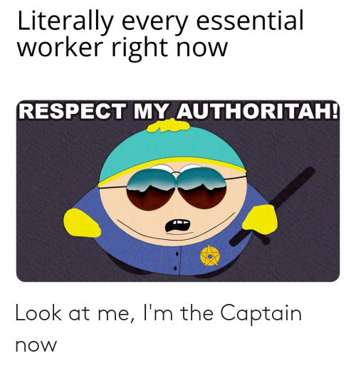 Im The Captain: Look at me, I'm the Captain now