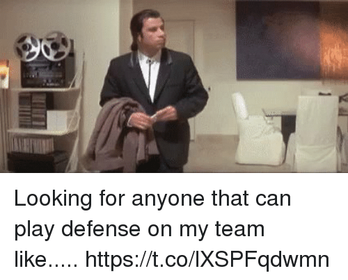Mike Tomlin, Looking, and Can: Looking for anyone that can play defense on my team like..... https://t.co/lXSPFqdwmn