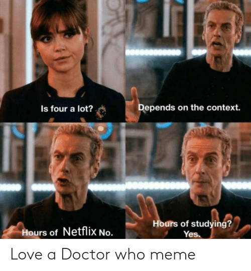 Doctor, Love, and Meme: Love a Doctor who meme