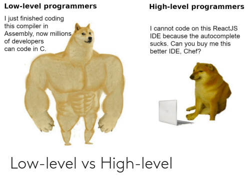 level: Low-level vs High-level