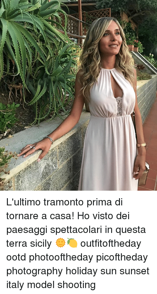 sicily: L'ultimo tramonto prima di tornare a casa! Ho visto dei paesaggi spettacolari in questa terra sicily 🌞🍋 outfitoftheday ootd photooftheday picoftheday photography holiday sun sunset italy model shooting