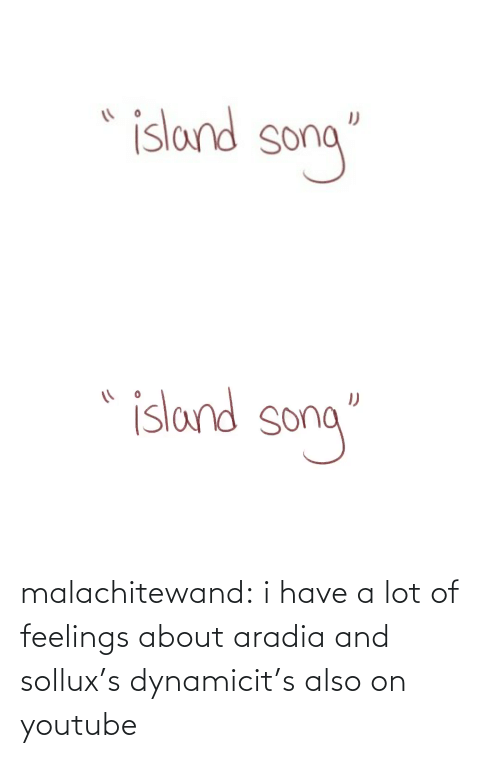 youtube.com: malachitewand:  i have a lot of feelings about aradia and sollux's dynamicit's also on youtube