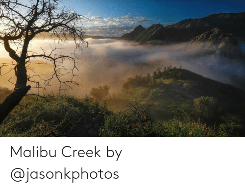 malibu: Malibu Creek by @jasonkphotos