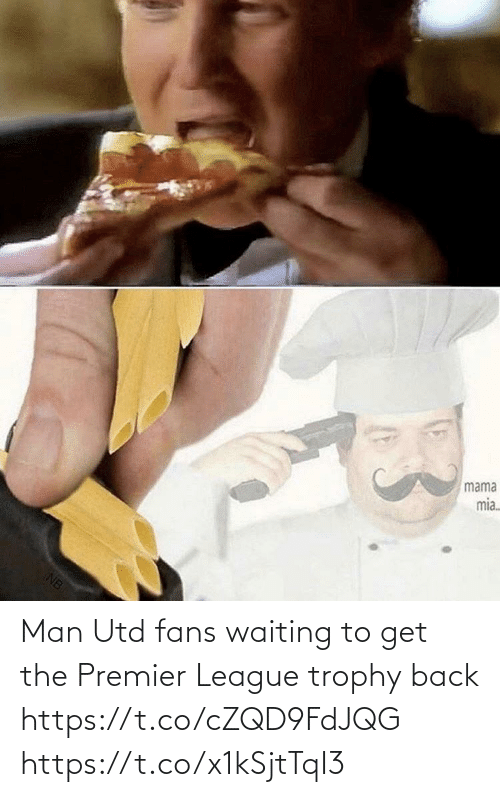 Premier League: Man Utd fans waiting to get the Premier League trophy back  https://t.co/cZQD9FdJQG https://t.co/x1kSjtTqI3