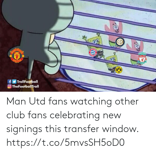 fans: Man Utd fans watching other club fans celebrating new signings this transfer window. https://t.co/5mvsSH5oD0
