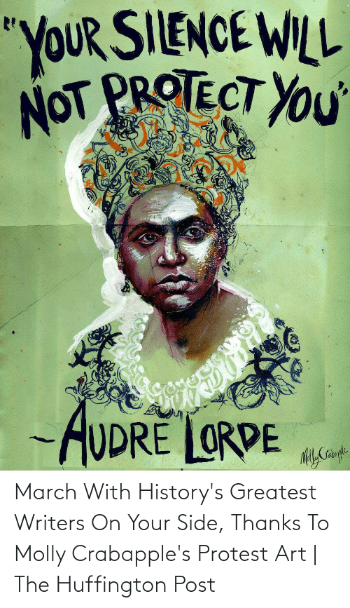 Protest: March With History's Greatest Writers On Your Side, Thanks To Molly Crabapple's Protest Art | The Huffington Post