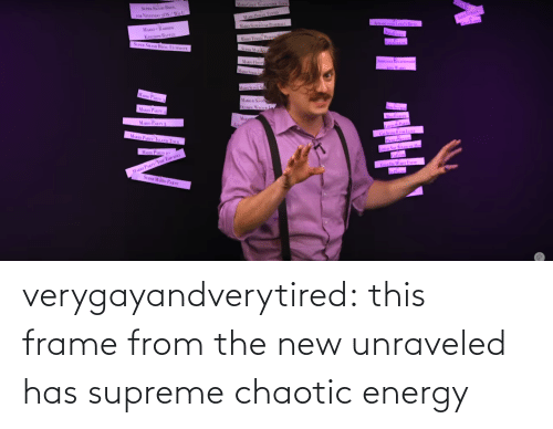 Frame: MARIO RAHBIDS  SUPER SMASHI BROS, ULTIn  |nI m  1|/N verygayandverytired:  this frame from the new unraveled has supreme chaotic energy