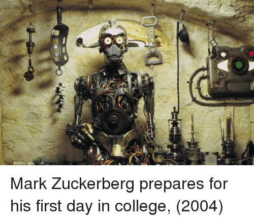 College, Mark Zuckerberg, and Zuckerberg: Mark Zuckerberg prepares for his first day in college, (2004)