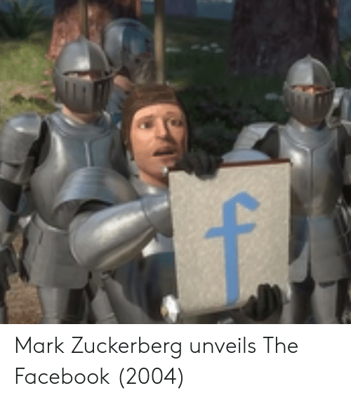 Facebook, Mark Zuckerberg, and Zuckerberg: Mark Zuckerberg unveils The Facebook (2004)