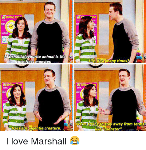 The Loch: Marshalisifavourite animal us the  Loch Ness monster.  Nessie is gentle creature.  Weare trying to stay away from terms  like monster I love Marshall 😂