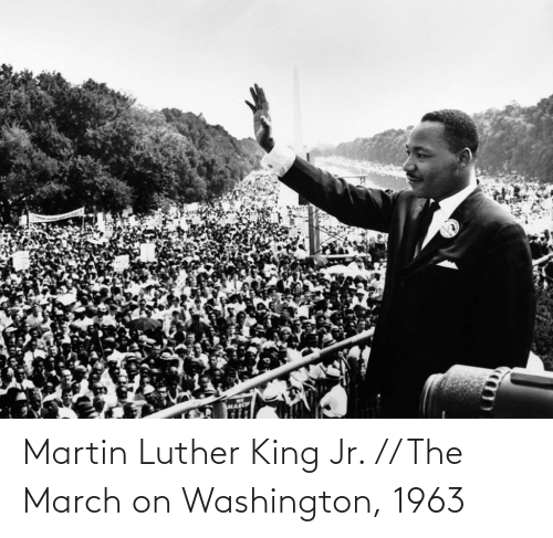 Martin: Martin Luther King Jr. // The March on Washington, 1963