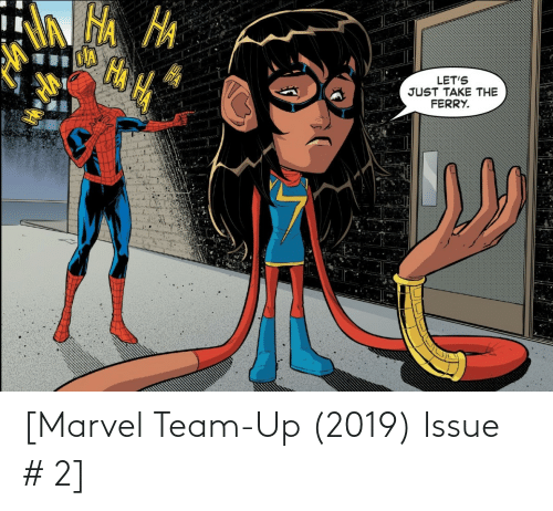 Marvel: [Marvel Team-Up (2019) Issue # 2]