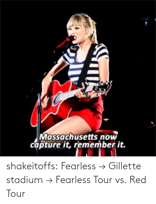 gillette stadium: Massachusetts now  capture it, remember it. shakeitoffs:  Fearless → Gillette stadium → Fearless Tour vs. Red Tour