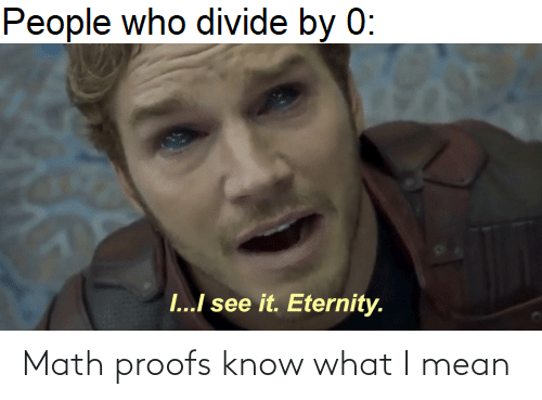 Proofs: Math proofs know what I mean