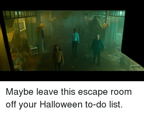 Halloween, Memes, and 🤖: Maybe leave this escape room off your Halloween to-do list.