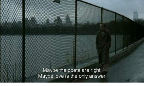 Love, Answer, and Right: Maybe the poets are right.  Maybe love is the only answer
