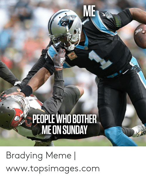 Bradying Meme: ME  ΣΕpΕ Η  PEOPLE WHO BOTHER  ME ON SUNDAY Bradying Meme | www.topsimages.com