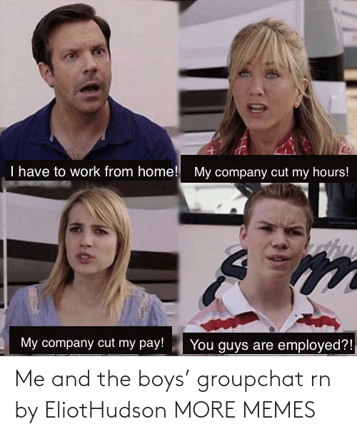 Blank: Me and the boys' groupchat rn by EliotHudson MORE MEMES